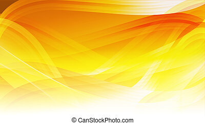 abstract orange background - drawing of beautiful abstract...