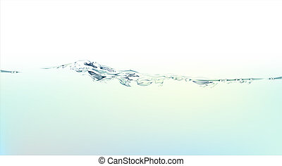 water splash and liquid - illustration drawing of beautiful...