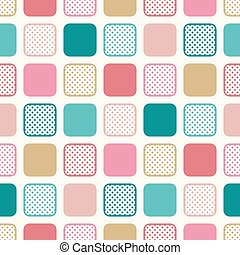 seamless colorful square pattern