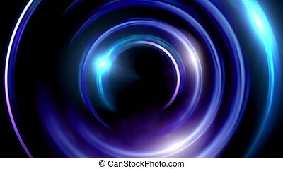 half ring double flares - The circle shape of ring lens...