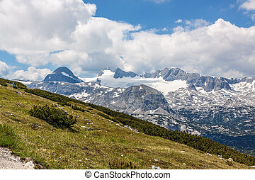 Dachstein Mountains - Dachstein mountains, view of mountain...