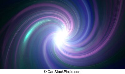 twirl color purple flare