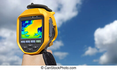 Recording Clouds with Infrared camera - Recording Clouds in...