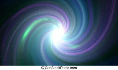 color twirl flare - The twirl is rotating with dark space...