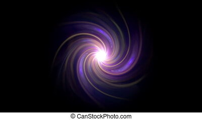 twirl of flare expose purple glow isolate - The twirl is...