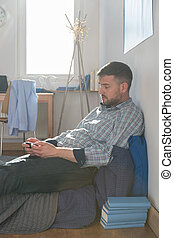 Mature single man - Picture of mature single man living...