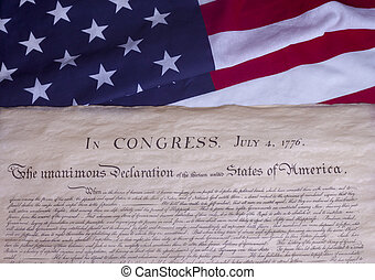 Historical Document US Constitution July 4