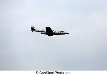 Cracow - Air festival - KRAKOW, POLAND - JUNE 29: Flying...
