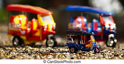 Tuk-Tuk Model toys,Thailand