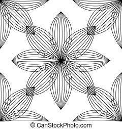 Abstract floral pattern. Design Card. Vector illustration.