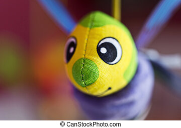 Little bee hanging above baby bed Joust Toys for babies