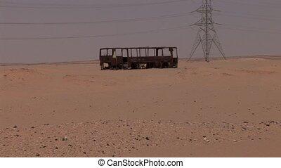 Wreck In Desert