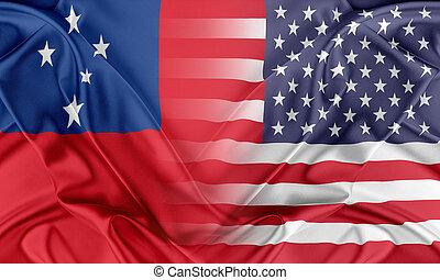 Stati Uniti, e, Samoa,