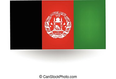 Afghanistan Flag - Official flag of Afghanistan.