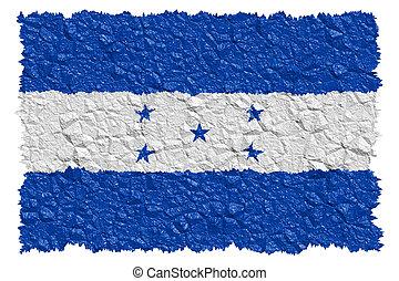 nacional, bandera, honduras