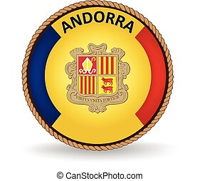 Andorra Seal - Flag seal of Andorra.