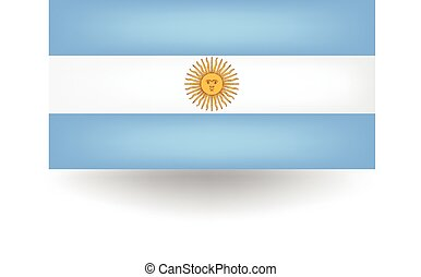 Argentina Flag - Official flag of Argentina