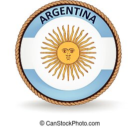 Argentina Seal - Flag seal of Argentina.