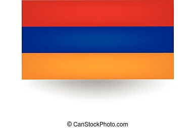 Armenia Flag - Official flag of Armenia.
