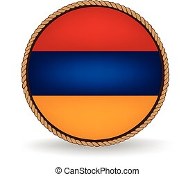 Armenia Seal - Flag seal of Armenia