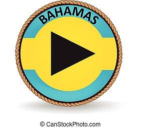 Bahamas Seal - Flag seal of the Bahamas.