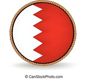 Bahrain Seal - Flag seal of Bahrain.