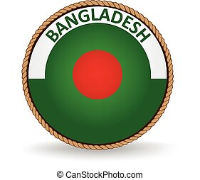 Bangladesh Seal - Flag seal of Bangladesh.