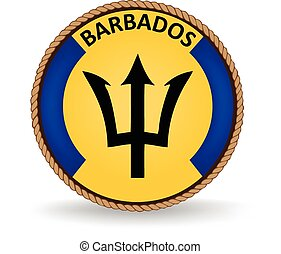 Barbados Seal - Flag seal of Barbados