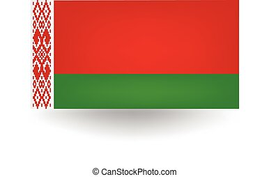 Belarus Flag - Official flag of Belarus.