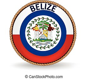 Belize Seal - Flag seal of Belize.
