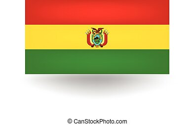 Bolivia Flag - Official flag of Bolivia.