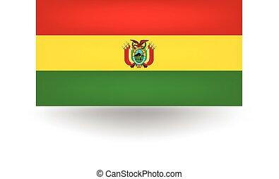 Bolivia Flag - Official flag of Bolivia.