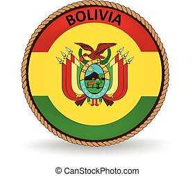 Bolivia Seal - Flag seal of Bolivia.