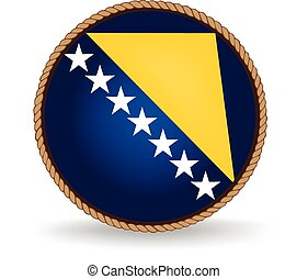 Bosnia And Herzegovina Seal - Flag seal of Bosnia and...