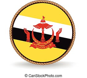 Brunei Seal - Flag seal of Brunei.