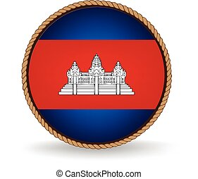 Cambodia Seal - Flag seal of Cambodia.