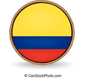 Colombia Seal - Flag seal of Colombia