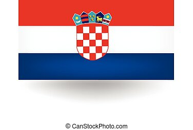 Croatia Flag - Official flag of Croatia.