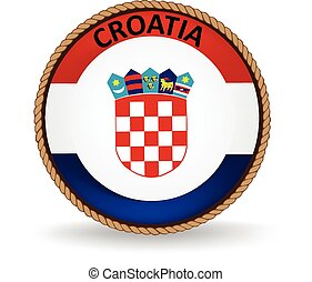 Croatia Seal - Flag seal of Croatia.