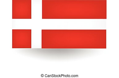 Denmark Flag - Official flag of Denmark
