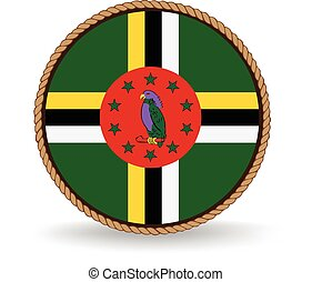 Dominica Seal - Flag seal of Dominica.