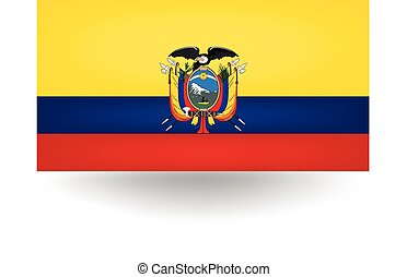 Ecuador Flag - Official flag of Ecuador