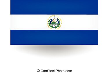 El Salvador Flag - Official flag of El Salvador