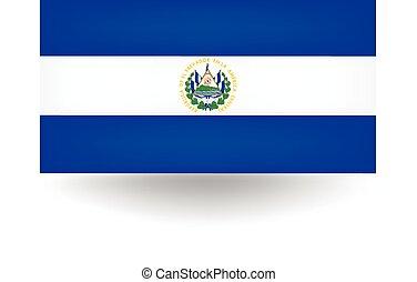 El Salvador Flag - Official flag of El Salvador.