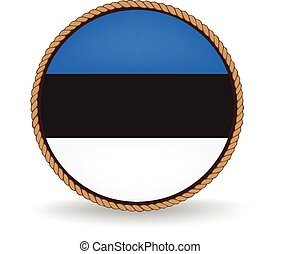 Estonia Seal - Flag seal of Estonia.
