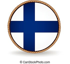 Finland Seal - Flag seal of Finland
