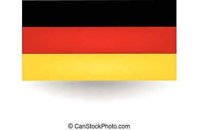 Germany Flag - Official flag of Germany.