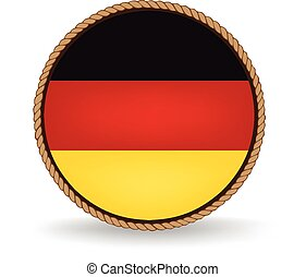 Germany Seal - Flag seal of Germany.