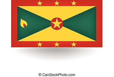 Grenada Flag - Official flag of Grenada