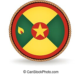Grenada Seal - Flag seal of Grenada.